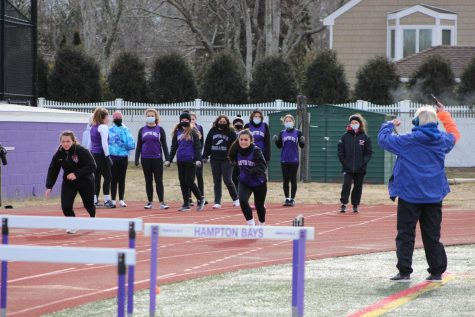 Track and Field Runs On