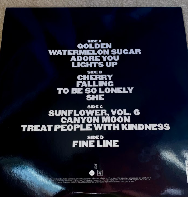 Fine Line album details