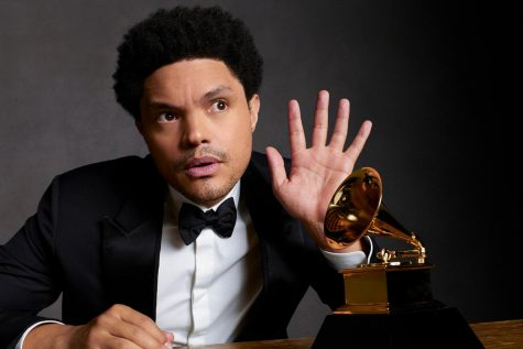 Trevor Noah of The Daily Show hosted this years Grammy Awards.