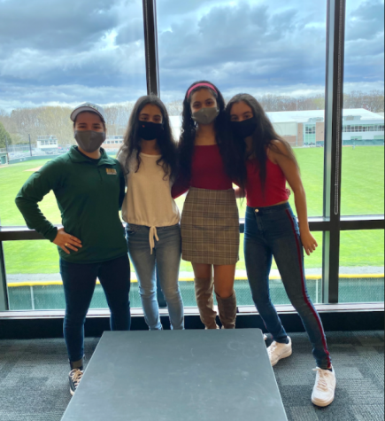 Tara, Sofia, and Teresa Lauther experienced in-person college tours.